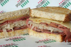 Spolumbos Deli - Reuben Sandwich