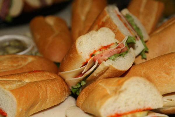 Sandwich Tray - Spolumbos Special