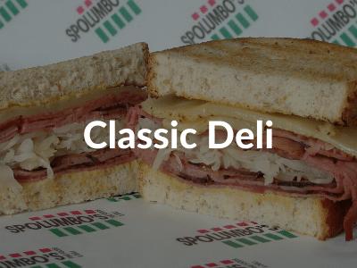 Spolumbos Deli - Classic Sandwiches
