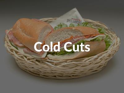 Spolumbos Deli - Cold Cuts